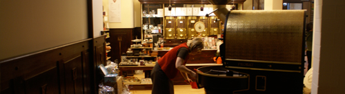 Eckernförder Kaffeerösterei in der Speicherpassage
