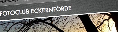 Website des Fotoclub Eckernförde