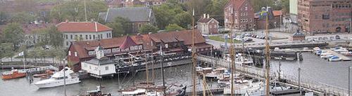 Hafenspitze in Göteborg als mögliches Vorbild für die Neugestaltung in Eckernförde